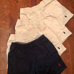3T polo shorts